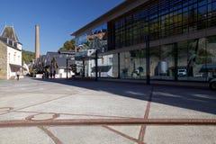 L'edificio di Microsoft a Lussemburgo, Europa fotografia stock