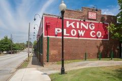 L'edificio 1902 di re Plow sul Westside del ` s di Atlanta Fotografia Stock