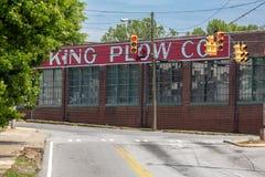 L'edificio 1902 di re Plow sul Westside del ` s di Atlanta Immagini Stock