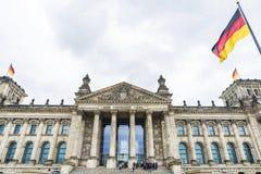 L'edificio di Reichstag, sedi del Parlamento tedesco, in è Immagini Stock Libere da Diritti