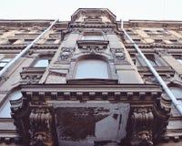 L'edificio di San Pietroburgo fotografie stock libere da diritti