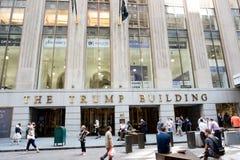 L'edificio di Trump Fotografia Stock
