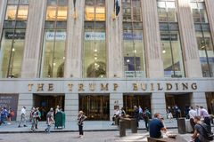 L'edificio di Trump Immagine Stock