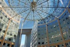 L'edificio per uffici. Fotografia Stock Libera da Diritti