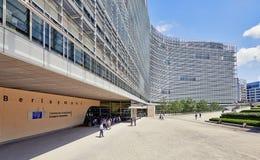 L'edificio per uffici di Berlaymont Fotografie Stock