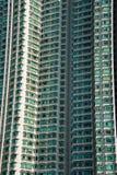 L'edificio residenziale di densità del hign a Hong Kong Immagine Stock