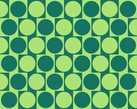 L'effet de mur de café d'illusion optique entoure le vert Photos stock