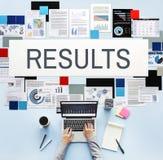 L'efficacité d'effet d'évaluation de résultats évaluent le concept photo libre de droits