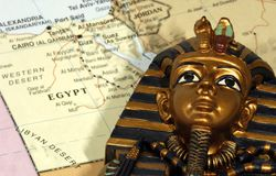 L'Egitto Fotografia Stock Libera da Diritti