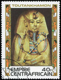 L'Egitto - francobollo Fotografia Stock
