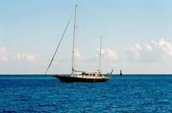 L'Egitto, l'yacht. Immagine Stock