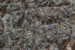 L'Egitto, le montagne del Sinai abbandona, canyon colorato Immagine Stock