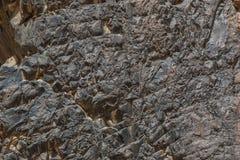 L'Egitto, le montagne del Sinai abbandona, canyon colorato Immagine Stock Libera da Diritti