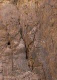 L'Egitto, le montagne del Sinai abbandona, canyon colorato Fotografie Stock Libere da Diritti