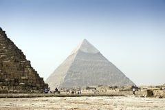 L'Egitto, piramidi Immagine Stock