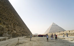 L'Egitto, piramidi Immagini Stock Libere da Diritti