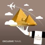 L'Egypte, destination illustration stock