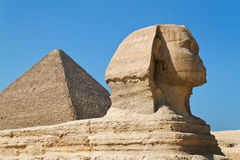 l'Egypte, Giza, sphinx images libres de droits