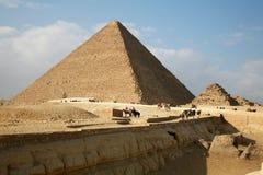L'Egypte, Gizeh, pyramides image libre de droits