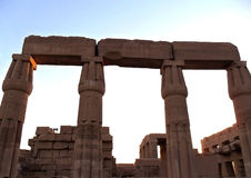 L'Egypte, Louxor - Thebes Images libres de droits