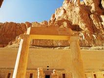 L'Egypte, temple de Hatshepsut Photos stock