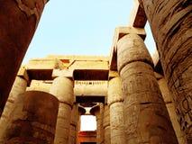 L'Egypte, temple de Karnak Photographie stock libre de droits