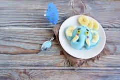 L'elefante è fatto del gelato Fotografia Stock Libera da Diritti
