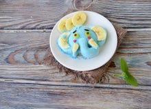 L'elefante è fatto del gelato Immagine Stock Libera da Diritti