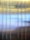 L'elevatore pavimenta l'indicatore Immagini Stock Libere da Diritti