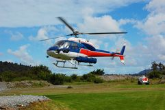 L'elicottero Fotografia Stock Libera da Diritti