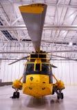 L'elicottero di Seaking, militare cerca e salva sull'aerodromo immagini stock libere da diritti