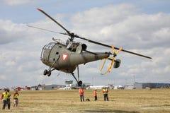 L'elicottero militare su 13 WCH Fotografia Stock Libera da Diritti