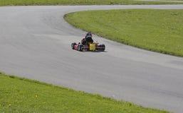 L'emballage d'enfant vont Kart Photo libre de droits