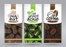 L'emballage Nuts a placé 1 Image libre de droits