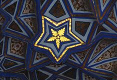 L'emblème de l'or Images stock