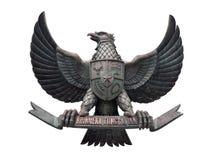 L'emblème national de l'Indonésie Images libres de droits
