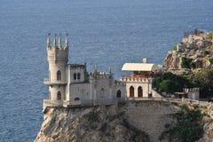 L'emboîtement de l'hirondelle de château Photos libres de droits
