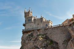L'emboîtement de l'hirondelle de château Images stock