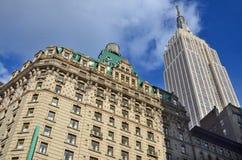 L'Empire State Building Photos libres de droits