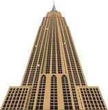L'Empire State Building dirigent l'illustration illustration de vecteur