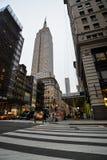 L'Empire State Building - New York image libre de droits