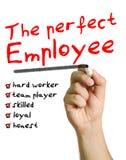 L'employé parfait image stock