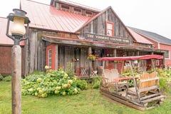 L'emporio di paese del Vermont fotografia stock libera da diritti