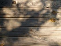 L'en bois superficiel par les agents Photographie stock