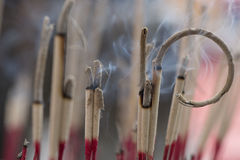 L'encens brûlait Photos stock