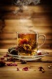 L'encore-vie de thème de thé Photo libre de droits