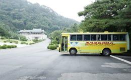 L'endroit scénique de la Corée du Nord Image stock