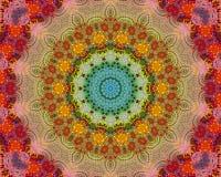 L'energia colora la mandala Fotografia Stock Libera da Diritti