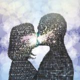 L'energia del bacio illustrazione vettoriale