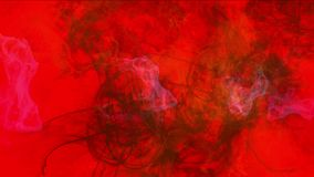 l'energia del magma di esplosione 4k, nuvole appanna il fumo della spruzzata, particelle dei fuochi d'artificio del gas del fuoco archivi video